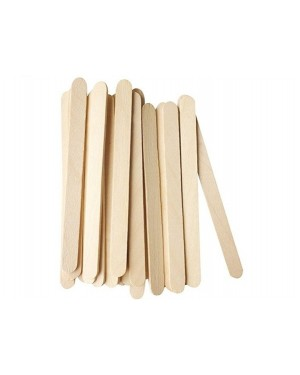 Wooden ice cream sticks