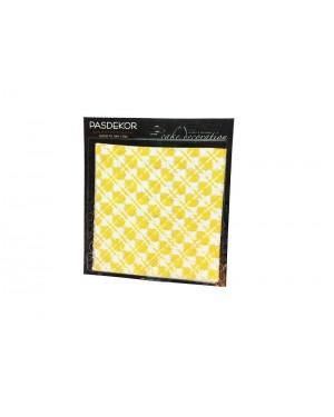 Yellow / White Chocolate Transfer Sheets