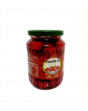 Tropical Cherries With Stems - 250g