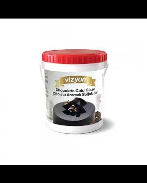 Vizyon Cold Glaze-Chocolate-2.5kg