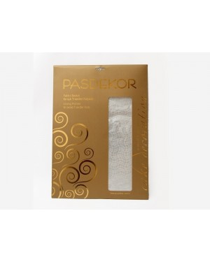 Easy crease chocolate transfer sheets